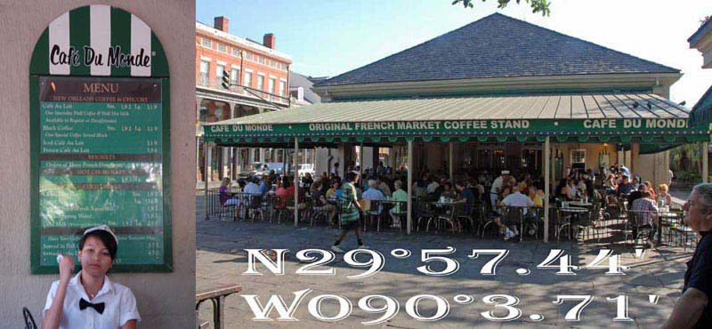 Cafe Du Monde New Orleans French Market